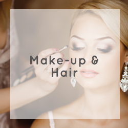 wedding make-up and hair cape town